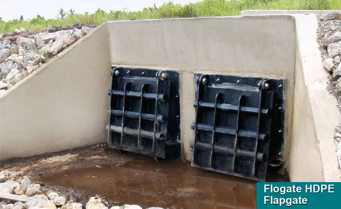 FLOGATE HDPE Flap Gate