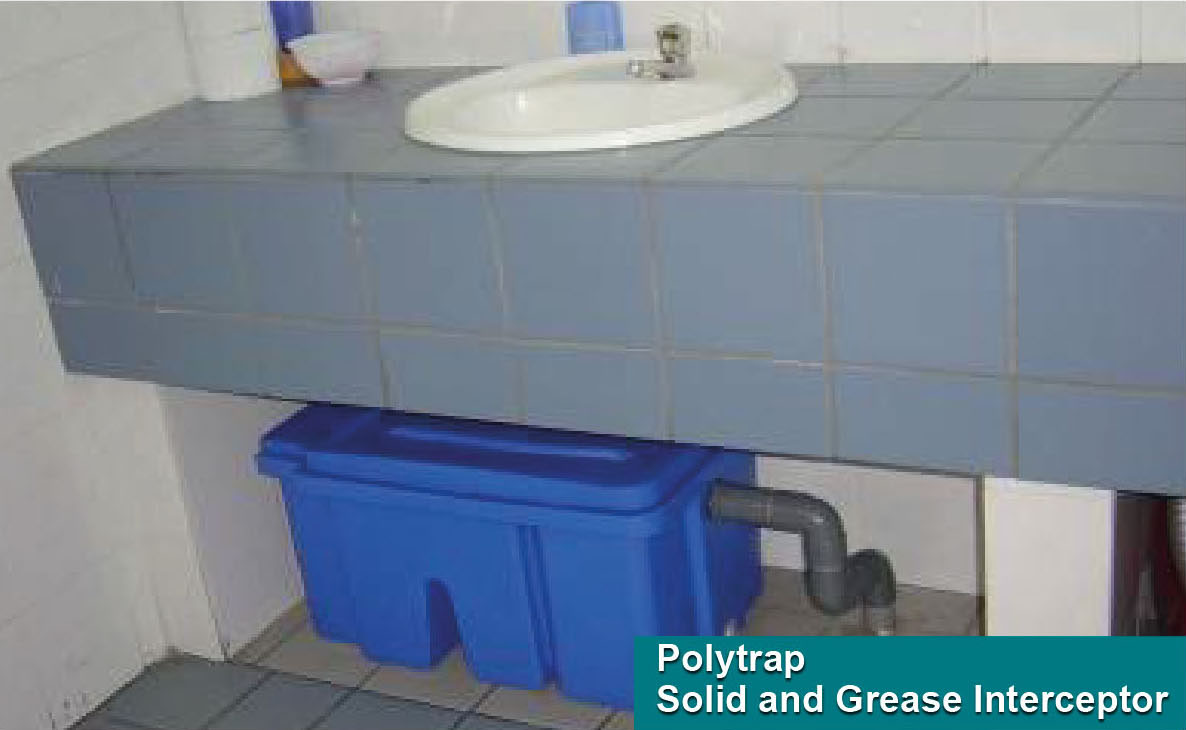 POLYTRAP® Solids and Grease Interceptor