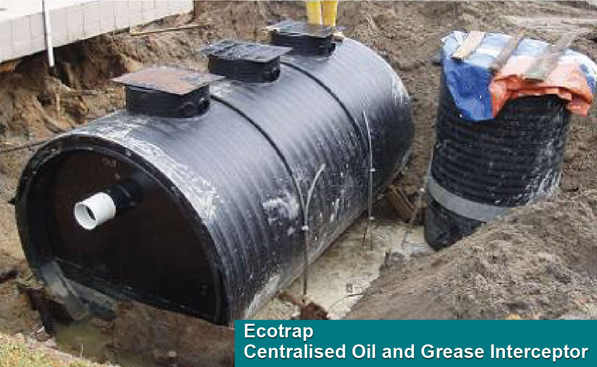 Ecotrap® Centralised Oil and Grease Interceptor