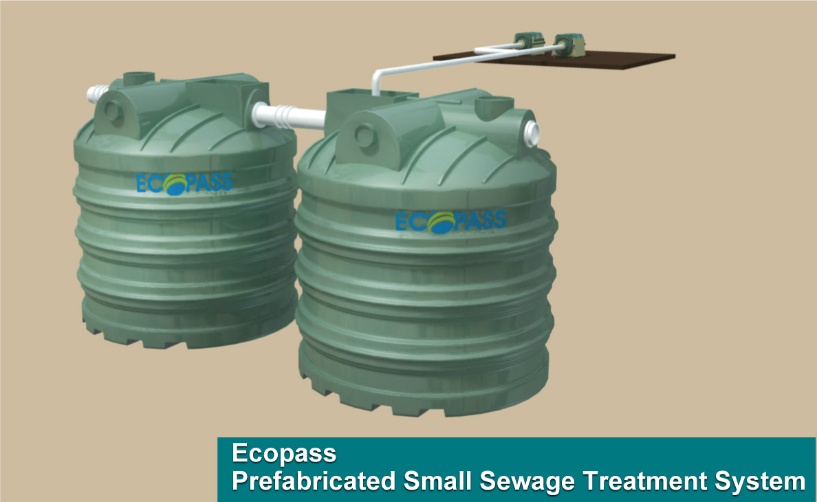 ECOPASS® Small Sewage Treatment System