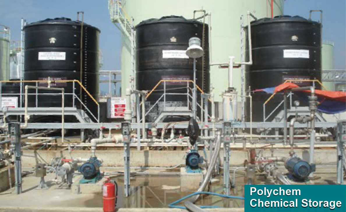 POLYCHEM® Polyethylene Chemical Tank