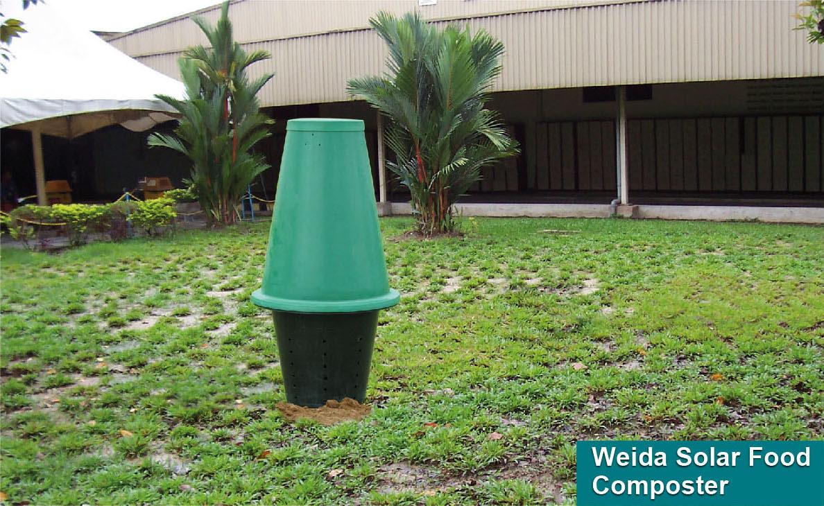 WEIDA® Solar Food Composter