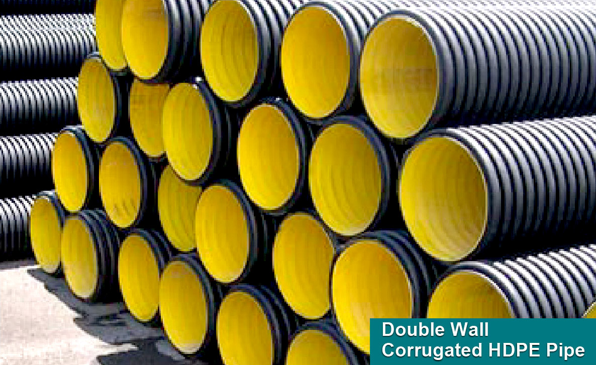 WEIDA® Double Wall Corrugated HDPE Pipe and Fittings
