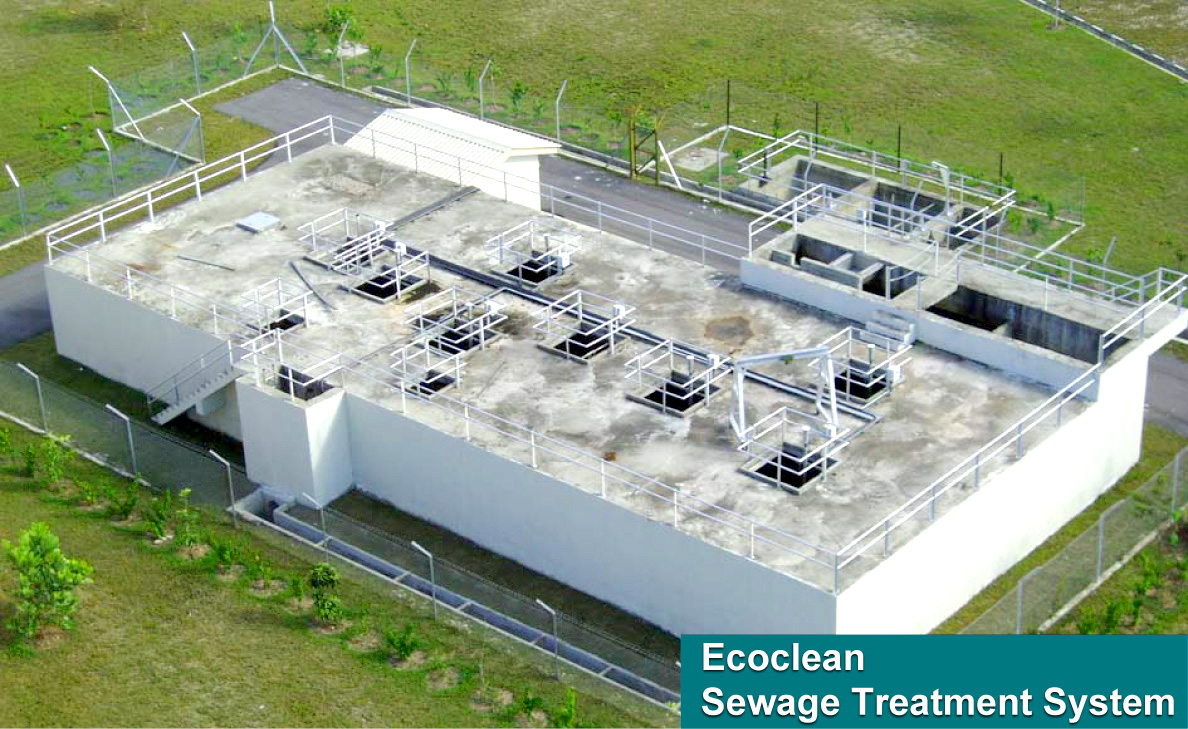 ECOCLEAN Sewage Treatment System