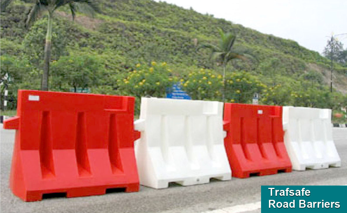 TRAFSAFE® Road Barriers & Hoarding