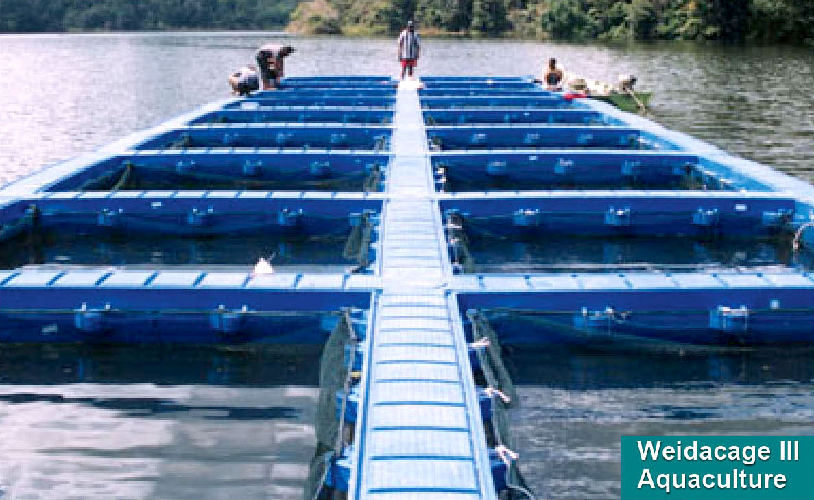 WEIDACAGE III Innovative Systems for Aquaculture