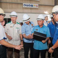 YB Tan Sri Datuk Amar Dr James Jemut Masing Visit to WII